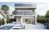 N033, New high quality build villa in Torre de la Horadada with sea views and private pool