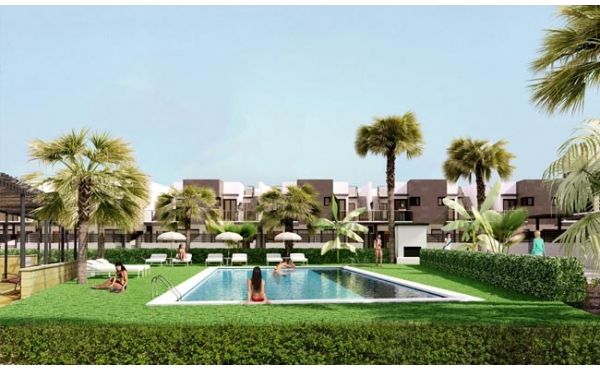 New Build Townhouse 3 beds in Playa Flamenca