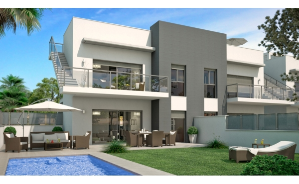 New Build Apartment with private pool in Rojales