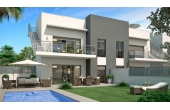 N055, New Build Apartment with private pool in Rojales