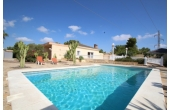 DP1266, Fantastic one level villa with pool and garage.