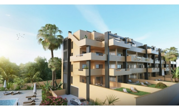 New apartments in Villamartin.