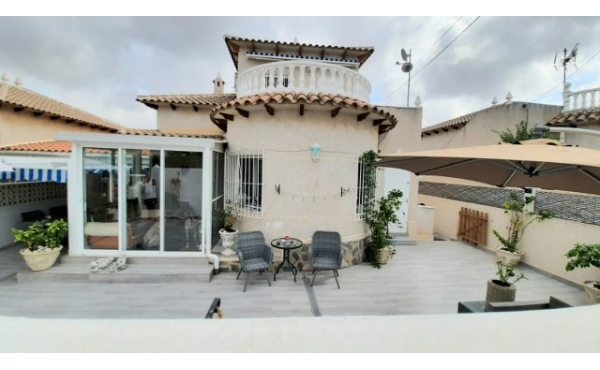 Fully refurbished detached villa with private pool.r