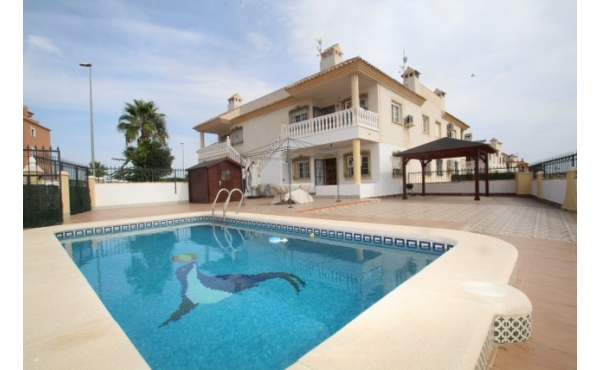 South facing apartment with private pool.