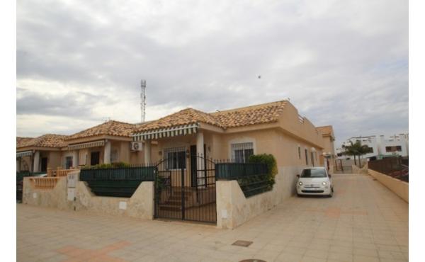 South facing bungalow in La Zenia.