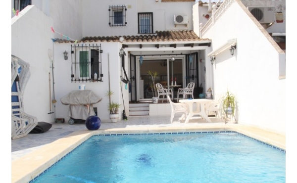 South facing townhouse with private pool.