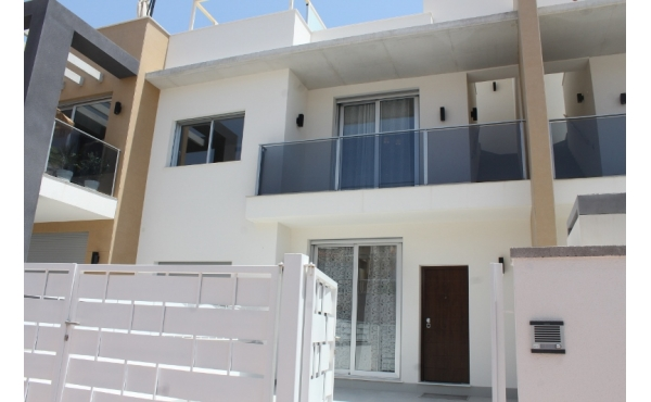 New built townhouse close to the beach