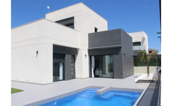 New Build Villa with private pool in Benijofar