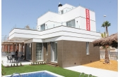 N011, New build modern villa in Rojales with private pool