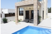 N015, New build villa in Rojales with private pool